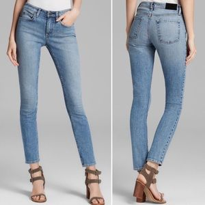 Theory Billy Mid-Rise Skinny Jeans